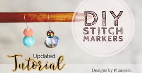 DIY Stitch Markers (Updated Video!)