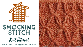 Knit Smocking Stitch Tutorial
