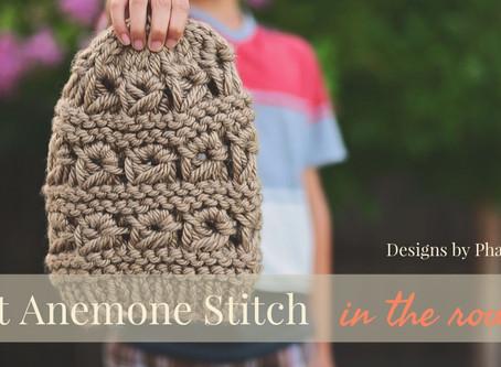 Knit Anemone Stitch Tutorial