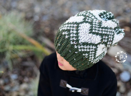 Crochet Sweetheart Slouch Pattern Release