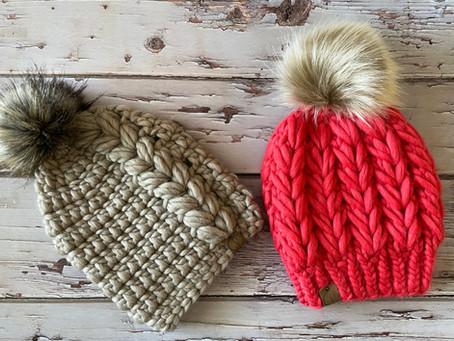 Crochet Barley Beanie & Knit Rye Beanie Pattern Release