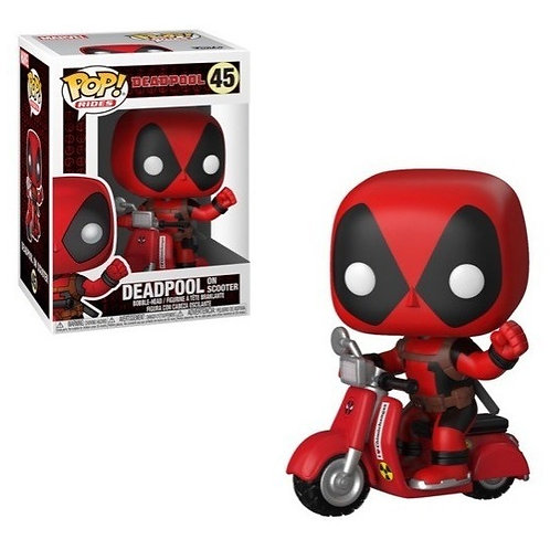 Deadpool on Scooter 48