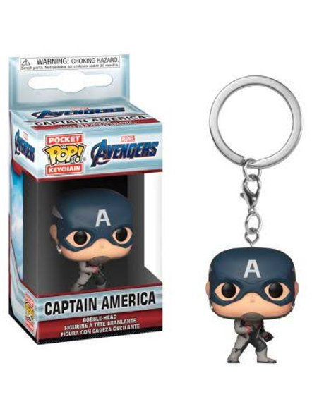 Llavero Captain América Funko Pop