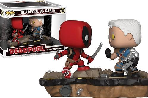 Deadpool vs Cable comic moments 318
