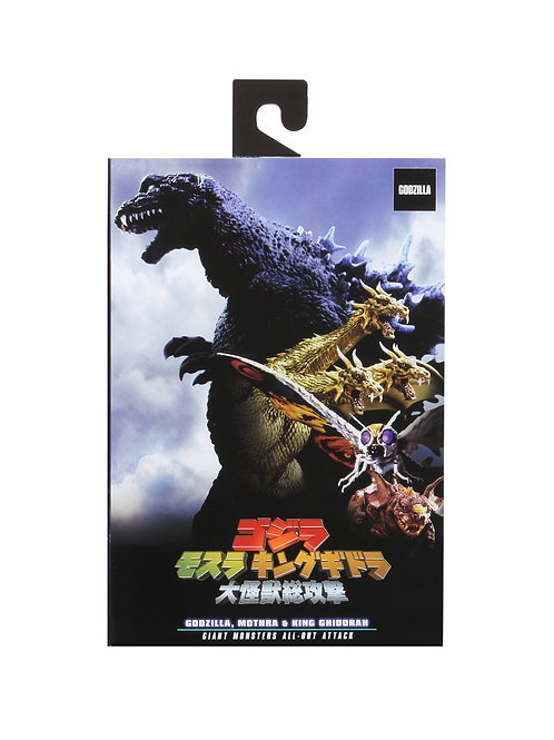 Godzilla Neca  Atomic Breathing Monster All out Attack