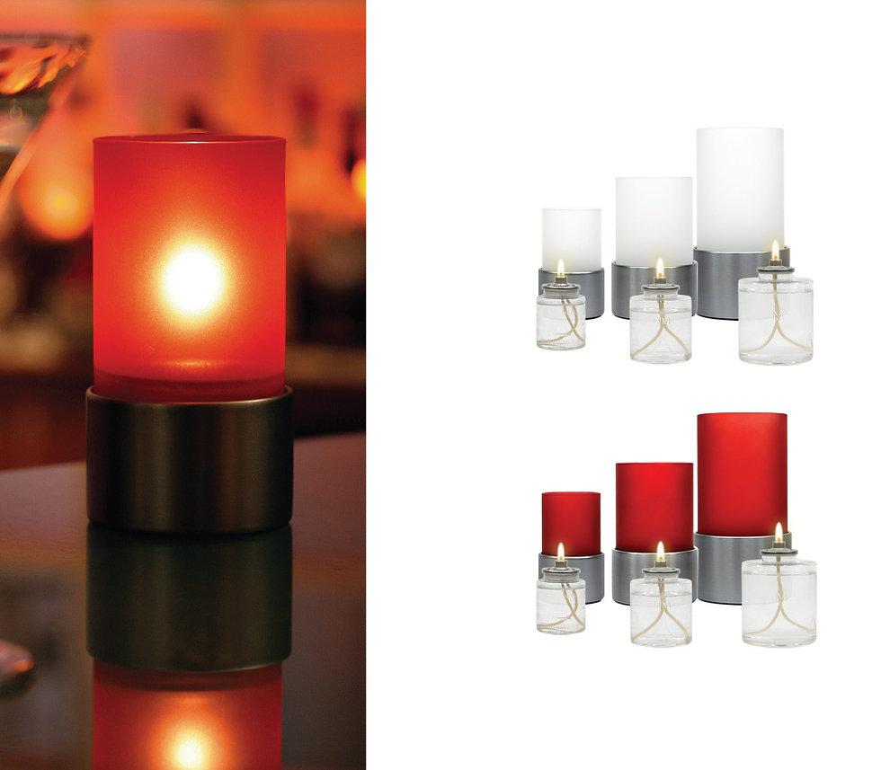 Liquid Wax Candle Lamps