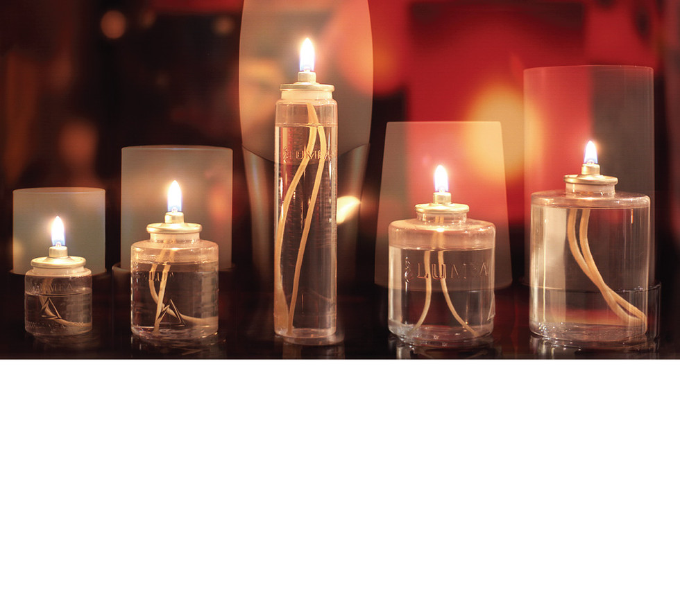 Liquid Wax Candle Lamps