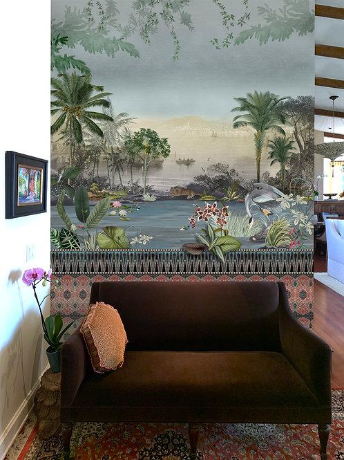 Custom Mural, Private Residence