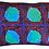 Thumbnail: African Lei (Blue)