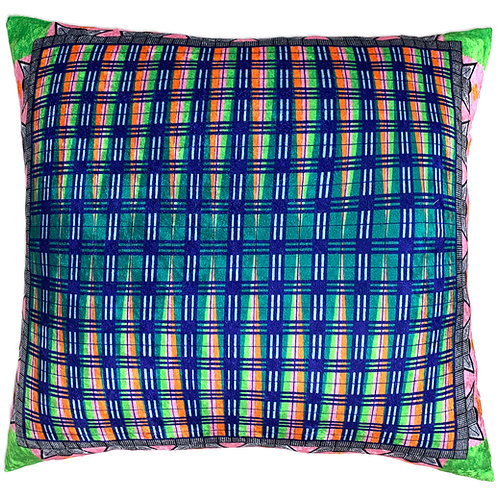 African Wave Plaid