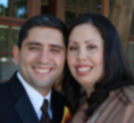 Headshots of Cristina and Rafael who own InVision Insurance