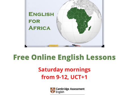 Free Saturday Morning English Lessons