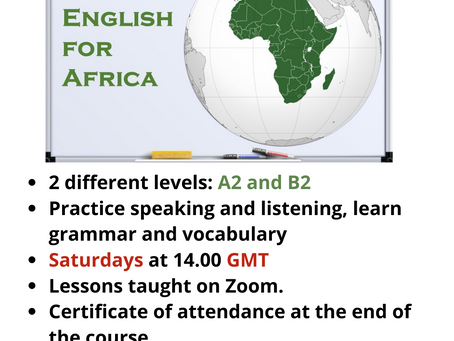 Free Online English Lessons Taught by CELTA Trainees