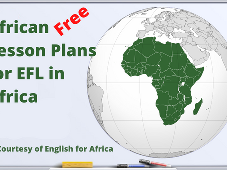 African content for EFL in Africa