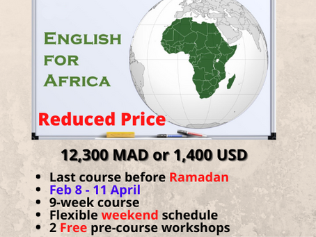 EfA's Last CELTA course before Ramadan