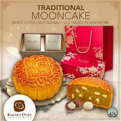 Macadamia Nuts White Lotus Mooncake