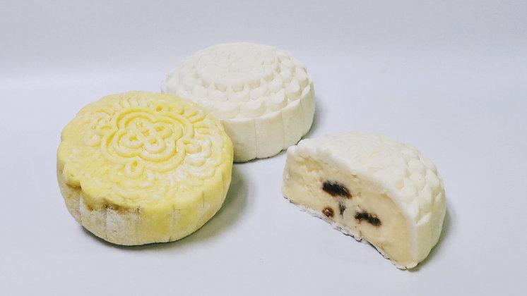 Creamy Cheese Raisin Snow Skin