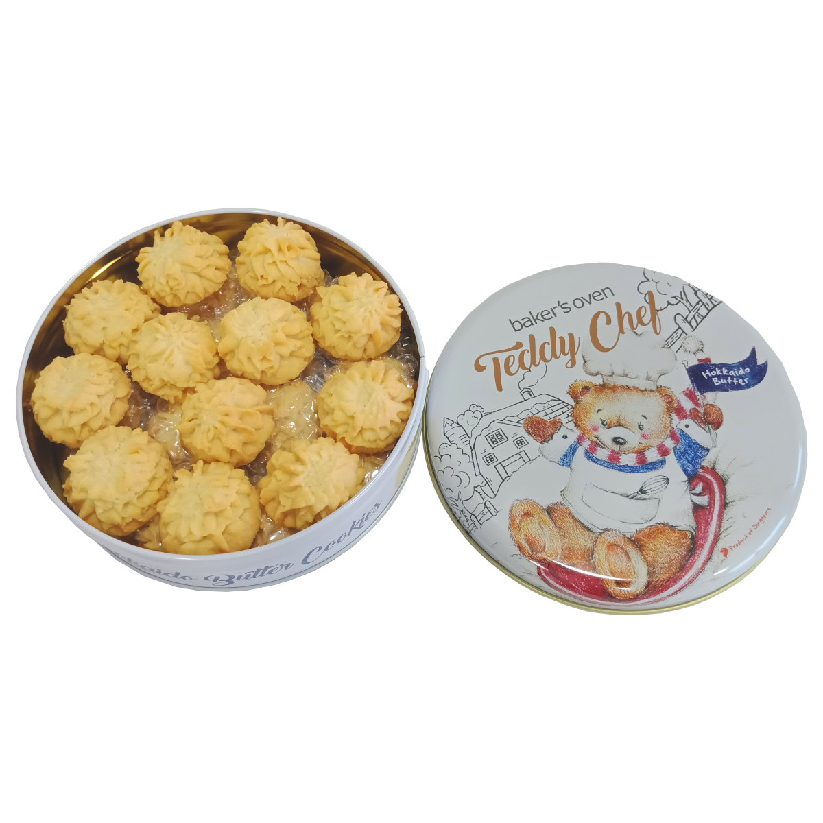 Teddy Chef - Hokkaido Butter Cookies | Baker's Oven