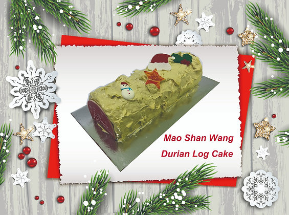 MSW Durian Log Cake