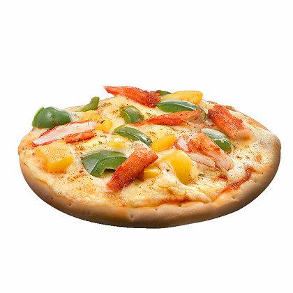 辣椒螃蟹披萨