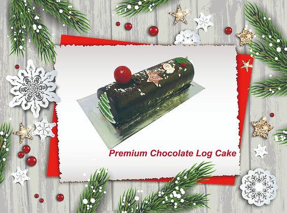 Premium Chocolate Log Cake