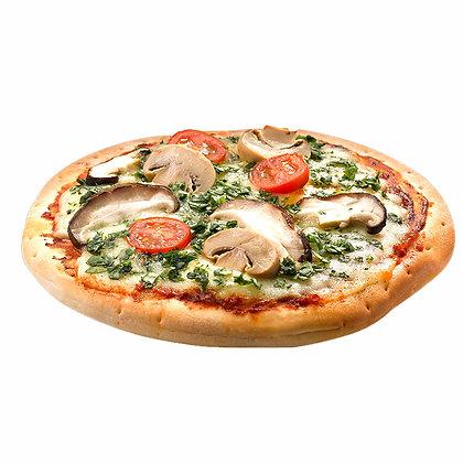 Mushroom & Spinach Pizza