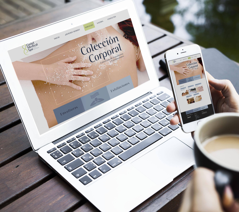 web page curiel p