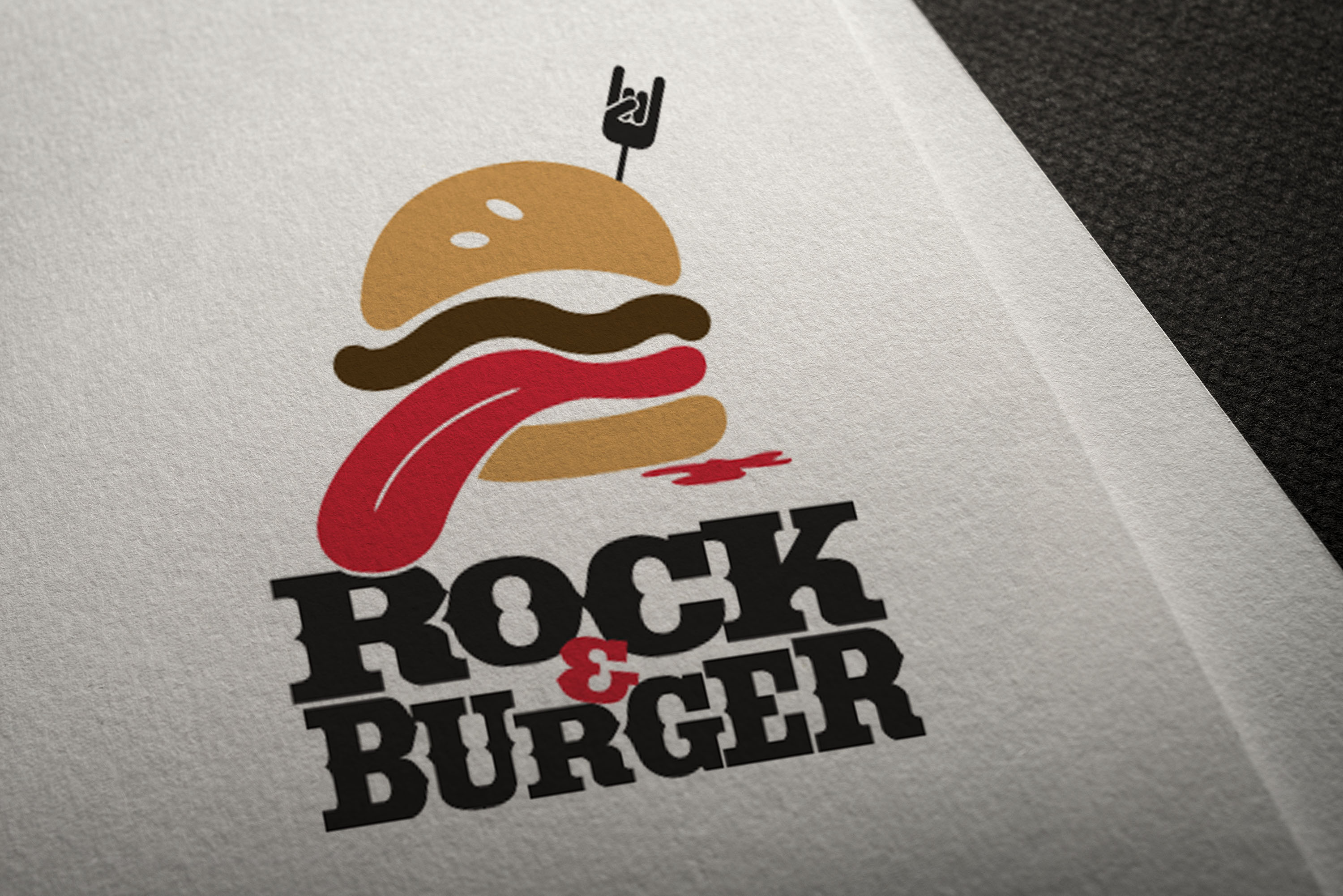 Rock and Burger Logo