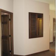 (6) Built in storage cabinet