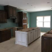 (48) White glazed kitchen