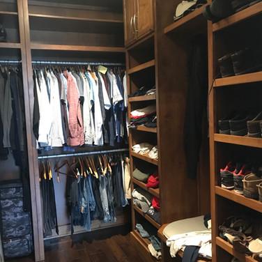 (34) Alder with Glaze Master Closet
