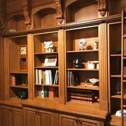 (15) 1/4 sawn White Oak Library