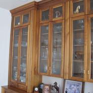 (2) Dining Room Hutch