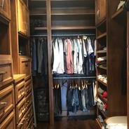 (33) Alder with Glaze Master Closet