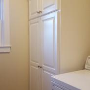 (23) Dove White Laundry Room