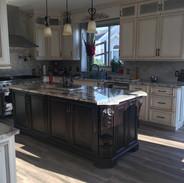 (21) Glazed painted Kitchen