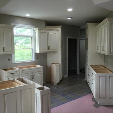 (42) Glaze on White Kitchen