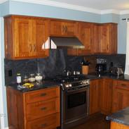 (24) 1/4 Sawn Oak Kitchen