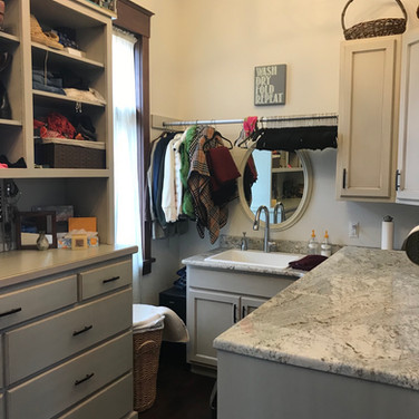 (40) Paint with Glaze Laundry Room