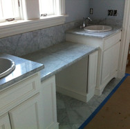 (9) Painted Double Vanity