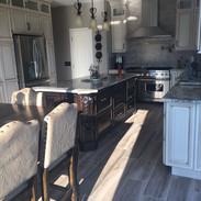 (20) Glazed painted Kitchen