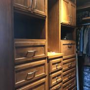 (35) Alder with Glaze Master Closet