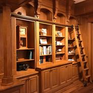 (13) 1/4 sawn White Oak Library