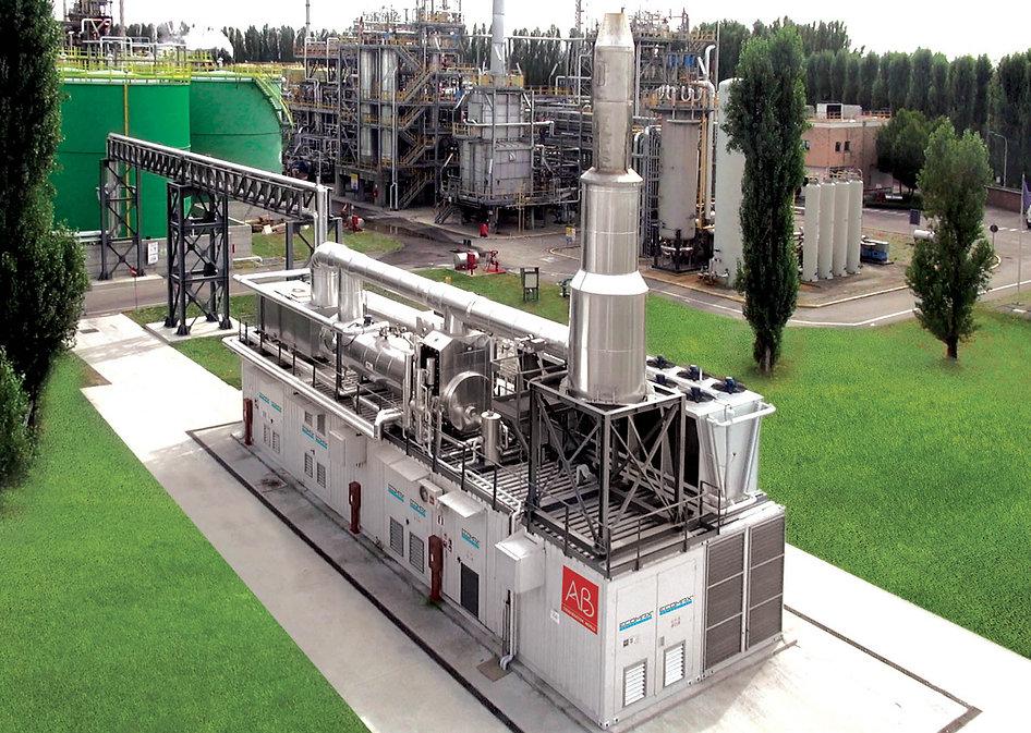 יחידת קוגנרציהמבוססת גז טבעי