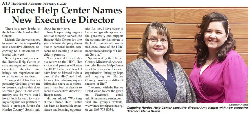 20200206 HHC Names New Exec Director.JPG