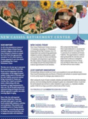 new cassel retirement center brochure