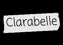 Clarabelle nametag.png