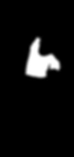 dancing-girl-silhouette-black-white R.pn