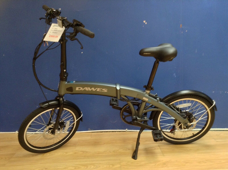 "Shop Demo Dawes Arc 2 Electric Folding Bike/20"" Wheel/Blue"