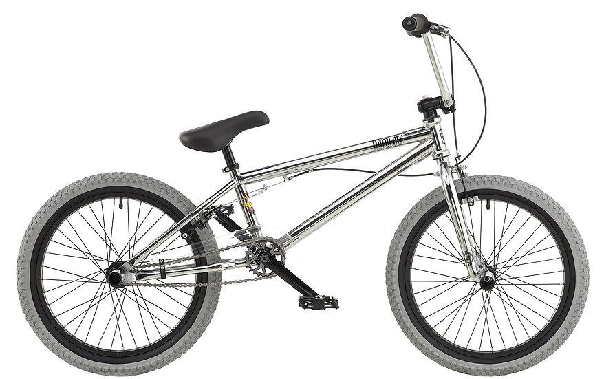 "Rooster HardCore - 20"" Wheel - Boys - BMX Bike -Chrome"